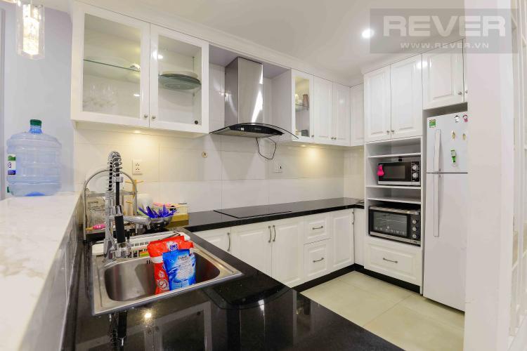 Bếp Cho thuê căn hộ Masteri Thảo Điền 2PN tầng cao, nội thất đầy đủ, khu dân cư yên tĩnh