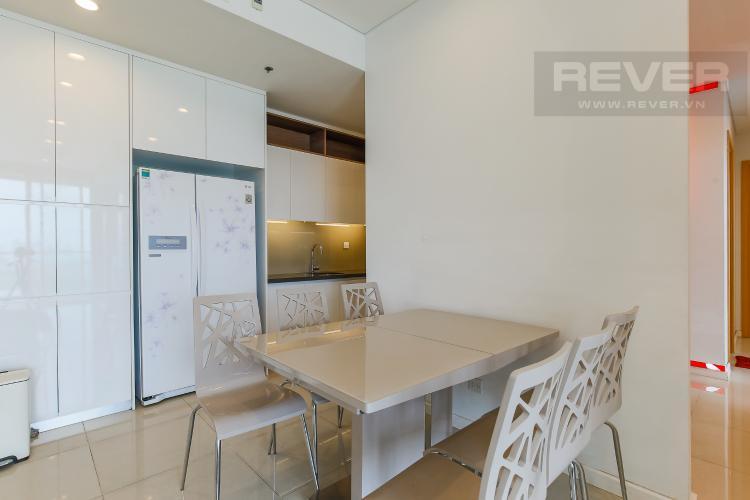 Bàn Ăn Cho thuê căn hộ Sarimi Sala Đại Quang Minh 3 phòng ngủ, đầy đủ nội thất, view Landmark 81