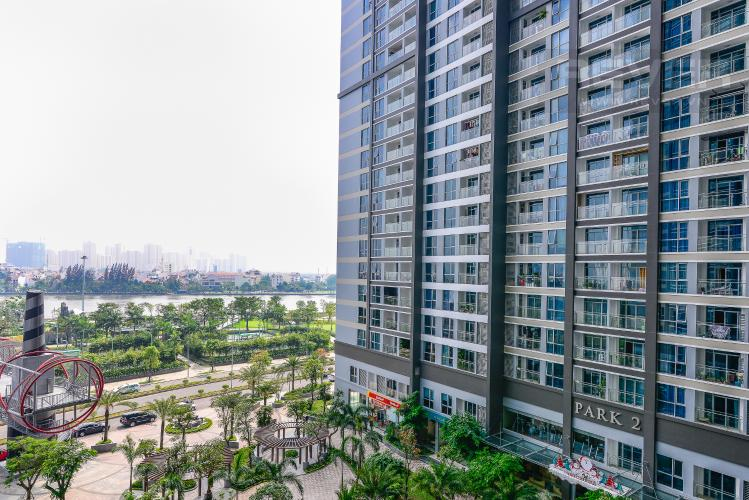 View Căn hộ Vinhomes Central Park tầng thấp Park 3 view hồ bơi nội khu