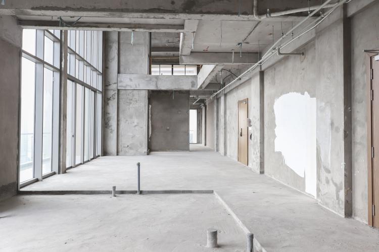 Bán penthouse Masteri Millennium 3PN, block A, không nội thất, thiết kế thông tầng, view panarama thành phố
