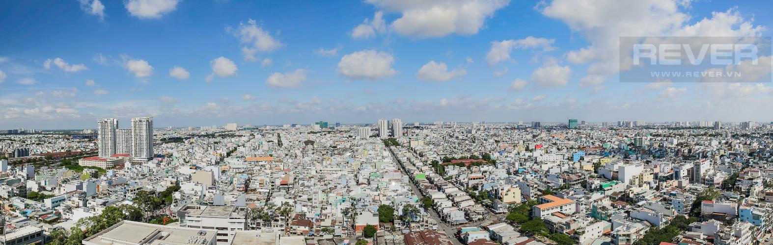 View Bán hoặc cho thuê căn hộ Remax Plaza 2PN, đầy đủ nội thất, diện tích 88m2, view thành phố