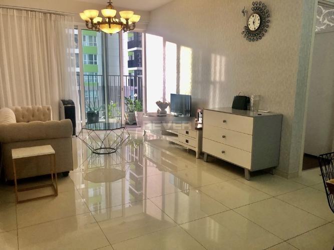 Phòng khách Vista Verde Quận 2 Căn hộ Vista Verde tầng trung nội thất đầy đủ, view nội khu.