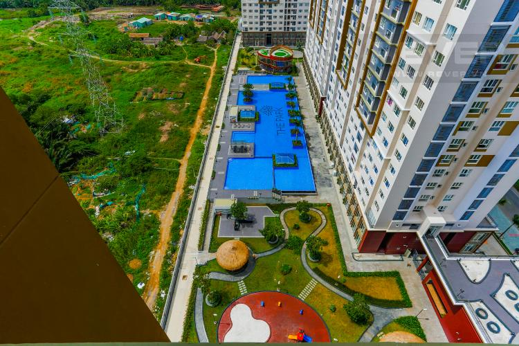View Hồ Bơi Căn hộ The Park Residence 2 phòng ngủ tầng trung B2 nội thất hiện đại