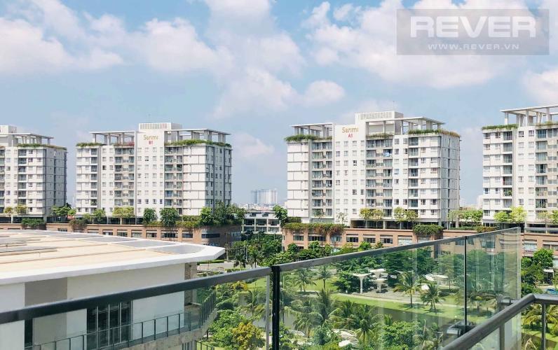 View Cho thuê căn hộ Sarina Condominium 3PN, tầng thấp, diện tích 143m2, đầy đủ nội thất