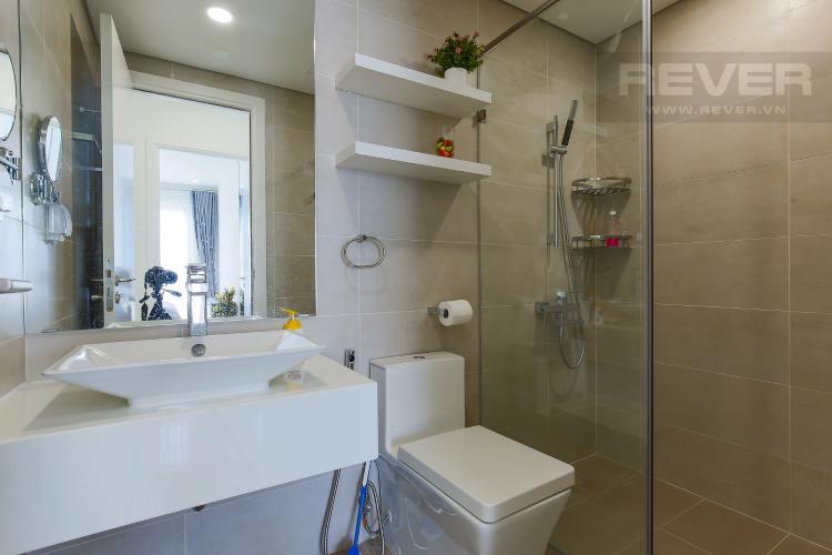 Phòng Tắm 2 Cho thuê căn hộ Masteri Millennium tầng cao, 2PN, đầy đủ nội thất