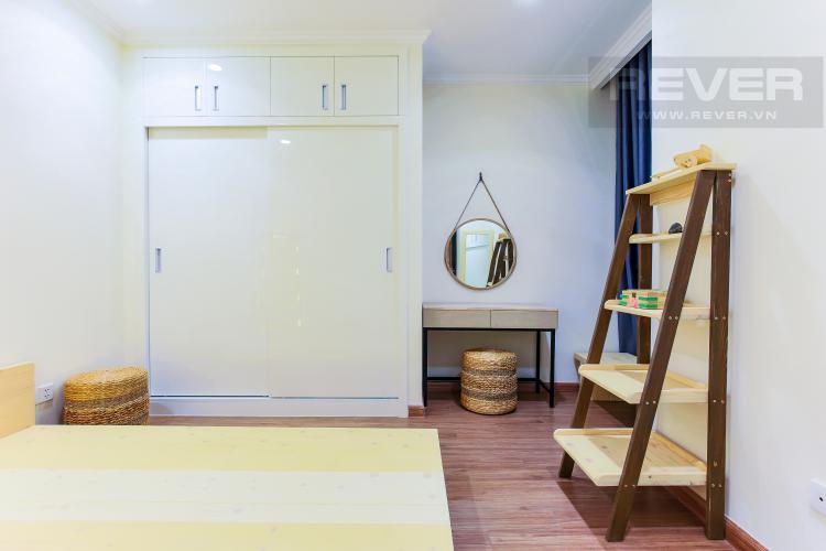 Phòng Ngủ 3 Căn hộ Vinhomes Central Park 3 phòng ngủ, tầng trung L3, nội thất đầy đủ