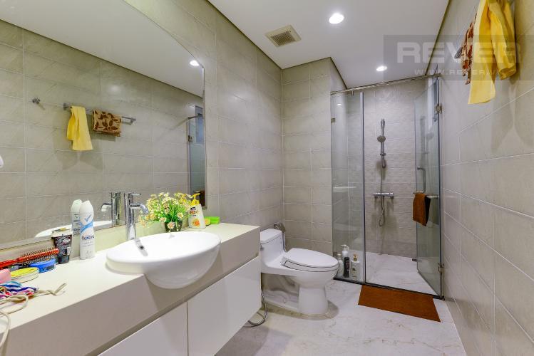 phòng tắm 2 Căn hộ Vinhomes Central Park tầng trung C1 thiết kế đẹp, sang trọng
