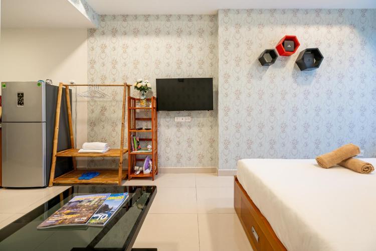 Phòng ngủ , Căn hộ River Gate , Quận 4 Căn hộ Rivergate Residence tầng 8 view thoáng mát, đầy đủ nội thất.