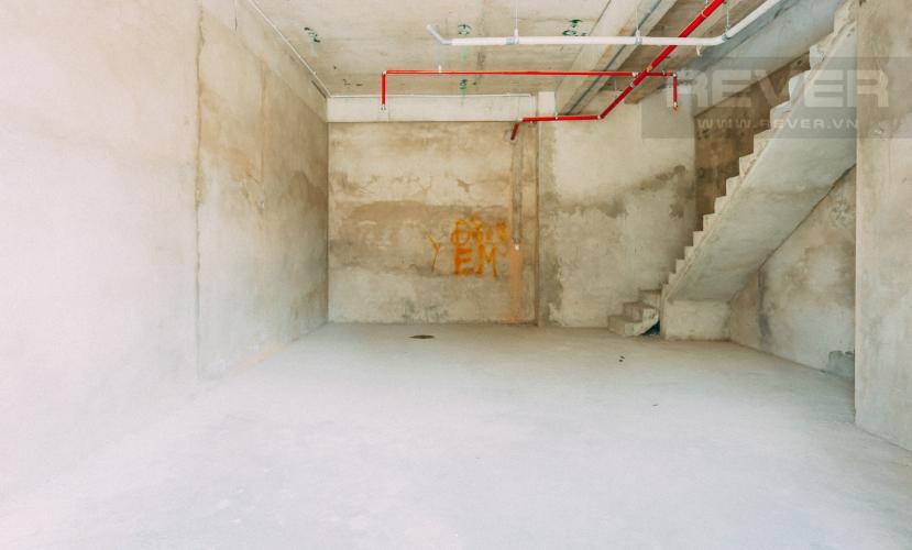 Tầng trệt Shophouse M-One Nam Sài Gòn nằm ở tháp T1 hướng Bắc