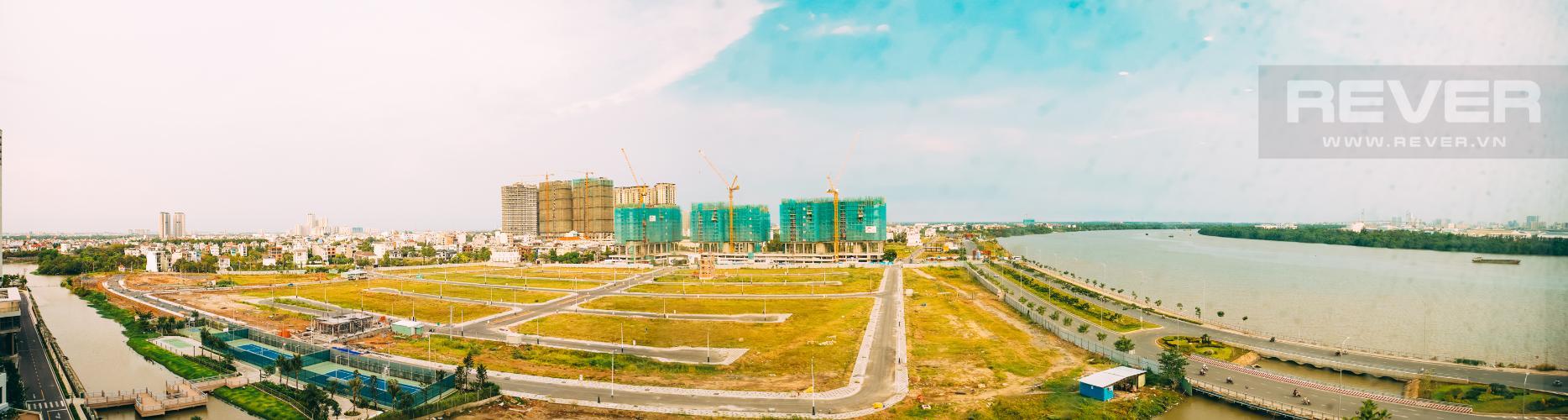 View Bán căn hộ Đảo Kim Cương tầng trung tháp Maldives, 3PN 2WC, view sông Sài Gòn mát mẻ