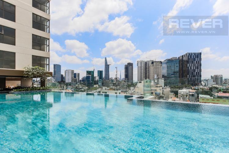 Hồ Bơi Cho thuê căn hộ Masteri Millennium tầng cao, 2PN, đầy đủ nội thất