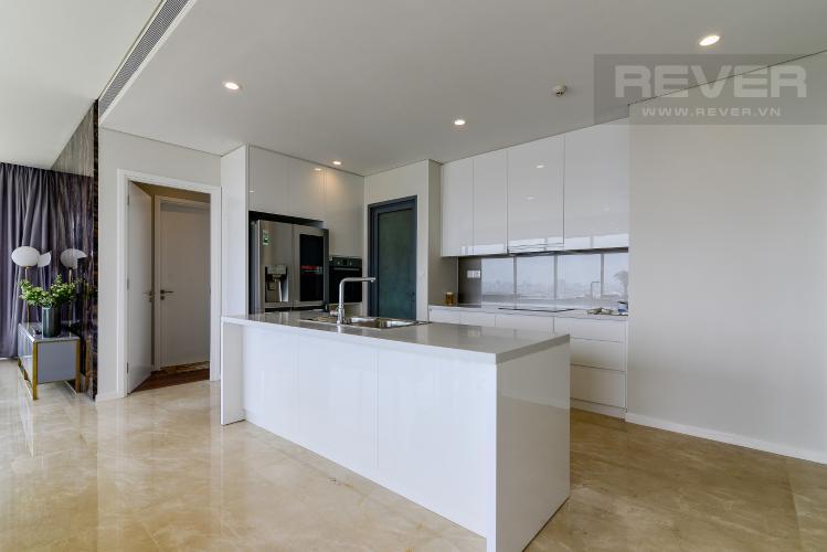 Nhà Bếp 1 Cho thuê căn hộ Diamond Island - Đảo Kim Cương 3PN, tầng cao, đầy đủ nội thất, view sông yên tĩnh