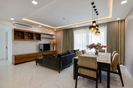 Căn hộ Vista Verde tầng cao 3 phòng ngủ, nội thất đầy đủ