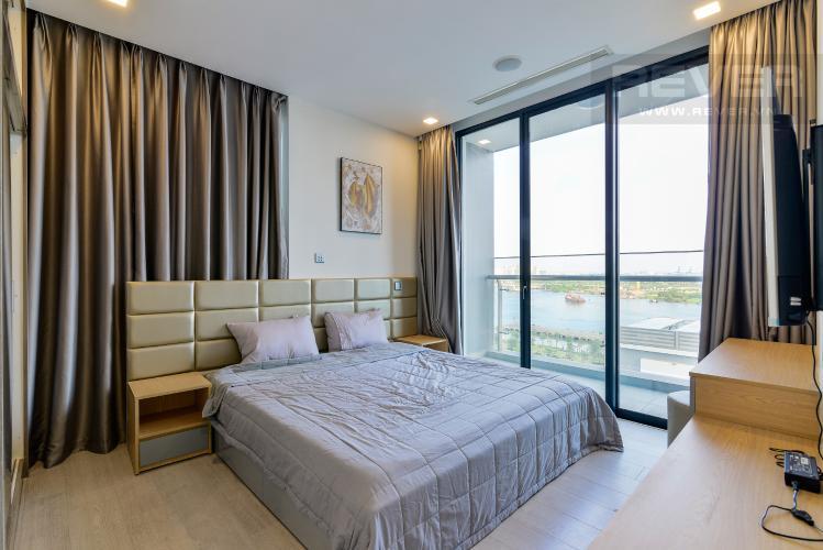 Phòng Ngủ 2 Bán căn hộ Vinhomes Golden River 3PN, đầy đủ nội thất, view sông