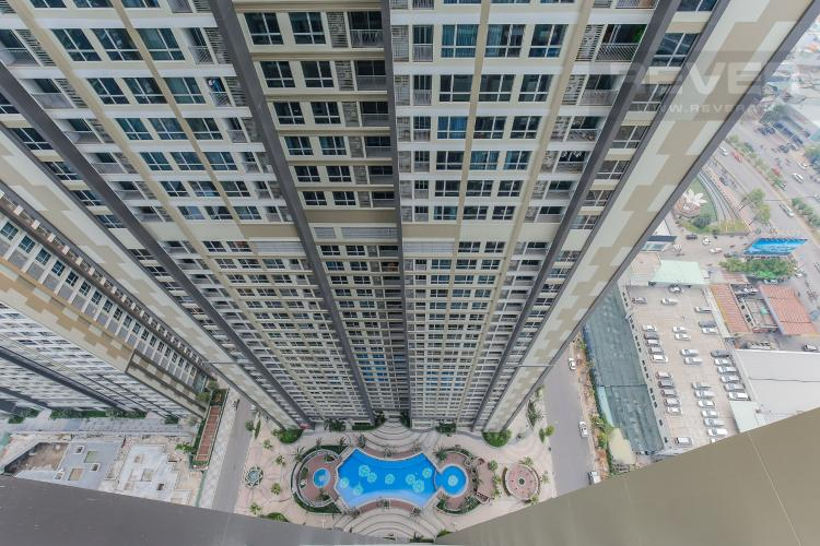 View Officetel Vinhomes Central Park 1 phòng ngủ tầng cao Landmark 5