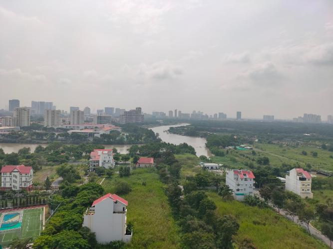 View căn hộ Saigon South Residence, Nhà Bè Căn hộ Saigon South Residence bàn giao thô, cửa chính hướng Tây.
