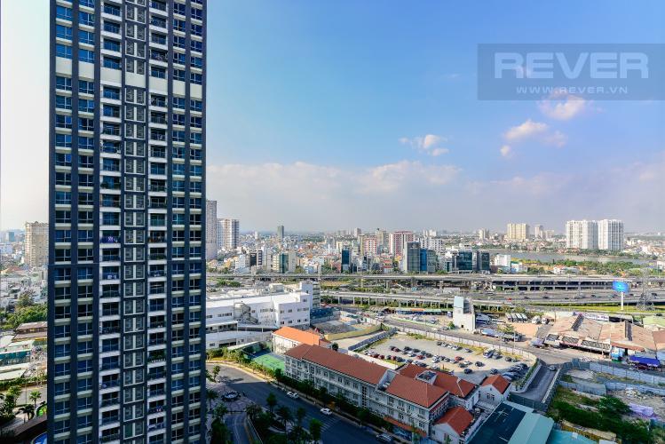 View Cho thuê căn hộ Vinhomes Central Park 48m2, nội thất hạng sang, view thành phố