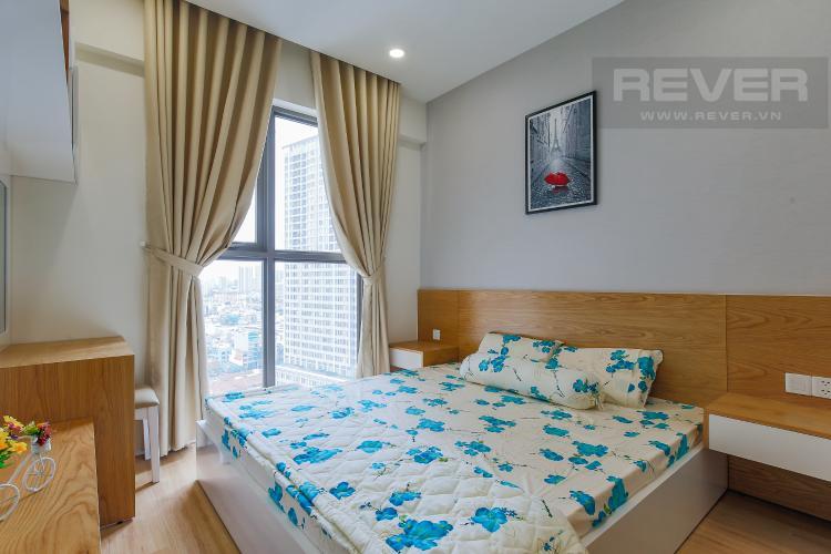 Phòng Ngủ 2 Căn hộ Masteri Millennium tầng cao, block A, 2PN đầy đủ nội thất