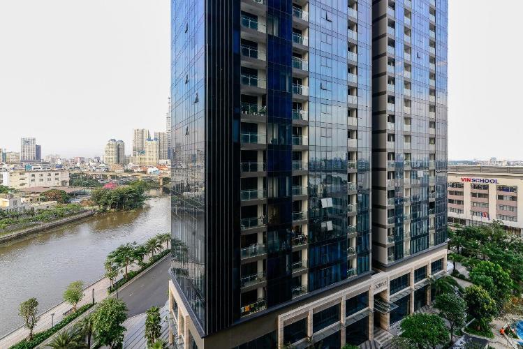 Vinhomes Golden River Căn hộ Vinhomes Golden River tầng thấp đầy đủ nội thất tiện nghi.