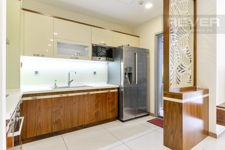 Nhà Bếp Bán căn hộ Vinhomes Central Park 3PN, diện tích 107m2, đầy đủ nội thất, view hồ bơi