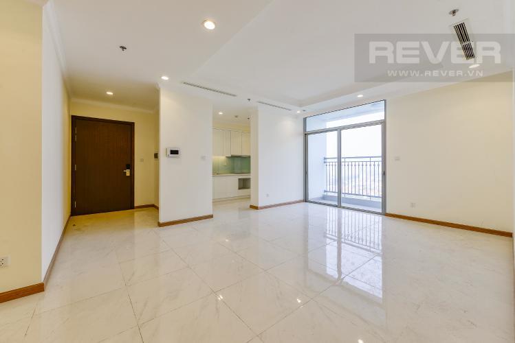 Phòng khách Căn hộ Vinhomes Central Park 4 phòng ngủ tầng cao L1 view sông