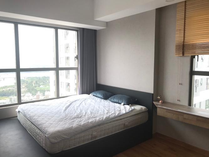 Phòng ngủ căn hộ The Sun Avenue Căn hộ The Sun Avenue tầng cao, đón view sông.