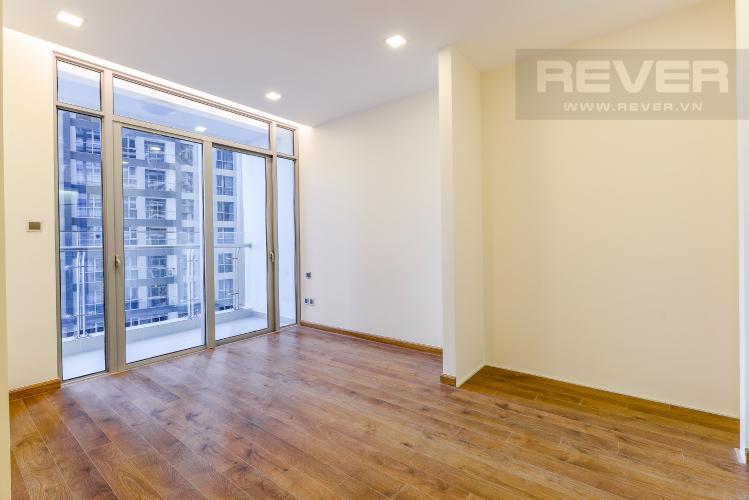 Phòng ngủ 1 Căn hộ Vinhomes Central Park 3 phòng ngủ tầng trung P7 view hồ bơi