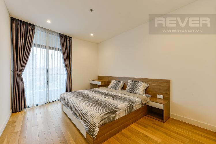 Phòng ngủ Cho thuê căn hộ City Garden tầng trung, 1PN, đầy đủ nội thất