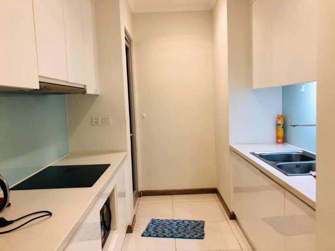 Bếp căn hộ Vinhomes Central Park Cho thuê căn hộ Vinhomes Central Park 2PN, tháp The Central 2, đầy đủ nội thất, view nội khu