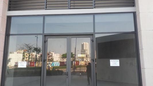 Cho thuê shophouse The Sun Avenue, block 8, diện tích 53m2, hoàn thiện mặt ngoài, mặt tiền đường Đồng Văn Cống