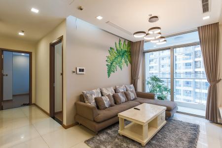 Bán căn hộ Vinhomes Central Park tầng trung tháp Park 3, 2PN 2WC, đầy đủ nội thất cao cấp