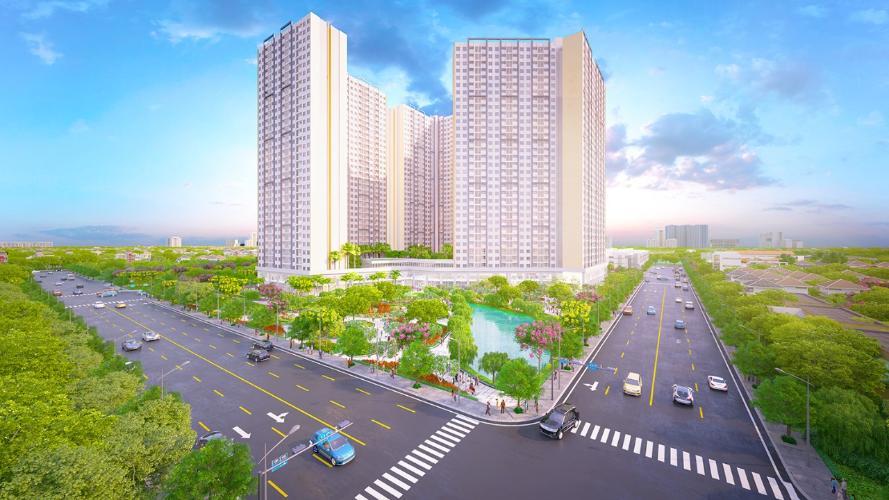 Tổng quan dự án City Gate 3 Căn hộ City Gate 3 nội thất cơ bản 1 phòng ngủ view thành phố  .