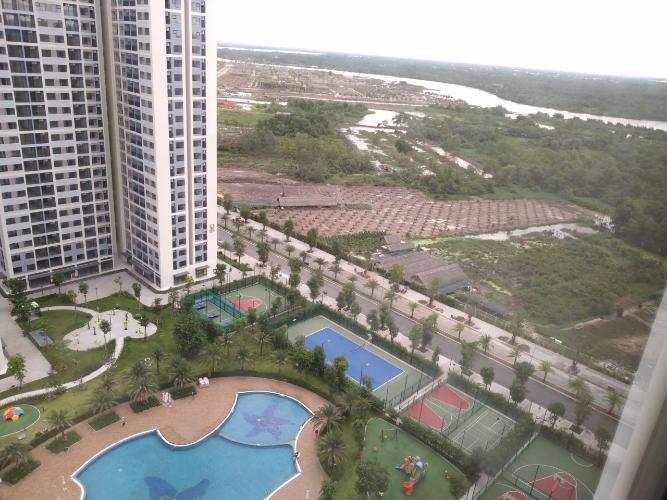 View căn hộ Vinhomes Grand Park Căn hộ Vinhomes Grand Park nội thất cơ bản, tiện ích cao cấp.