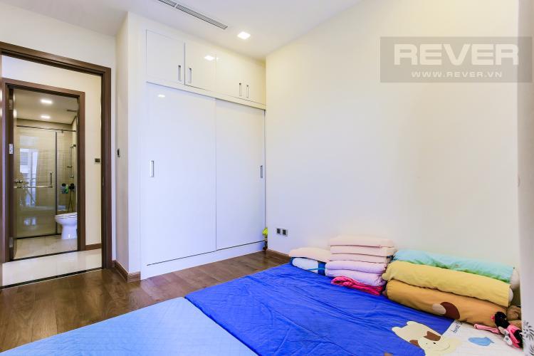 Phòng Ngủ 2 Căn hộ Vinhomes Central Park tầng trung Park 5 view trực diện sông