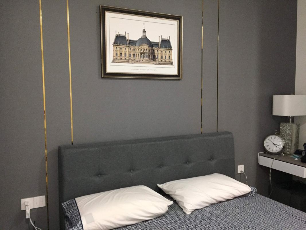 mil0801 5 Bán căn hộ Masteri Millennium 2PN, block A, diện tích 65m2, đầy đủ nội thất