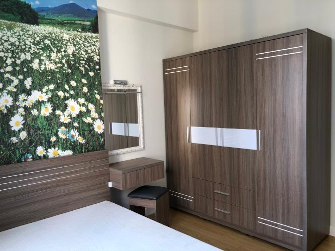 Phòng ngủ căn hộ Masteri Thảo Điền Căn hộ 2 phòng ngủ Masteri Thảo Điền, tầng cao, nội thất tiện nghi