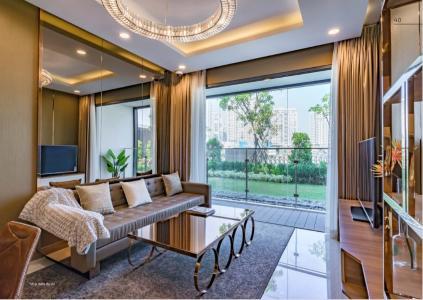 Bán căn hộ One Verandah 2PN, tầng 5, đầy đủ nội thất, ban công Đông Nam