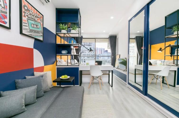 Bán căn hộ Masteri Millennium 1PN, tầng thấp, đầy đủ nội thất, view trực diện hồ bơi