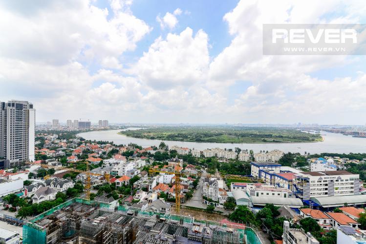 View Cho thuê căn hộ Masteri An Phú 2PN, tầng trung, tháp A, diện tích 70m2, đầy đủ nội thất