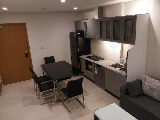 Phòng bếp căn hộ Đảo Kim Cương, Quận 2 Căn hộ view nội khu Diamond Island đầy đủ nội thất sang trọng.