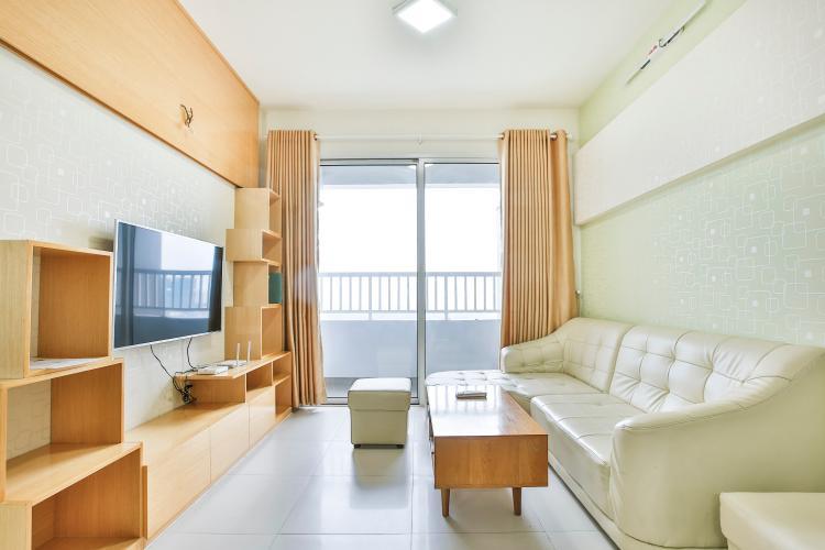 Phòng Khách Căn hộ Lexington Residence 3 phòng ngủ tầng trung LD hướng Đông Bắc