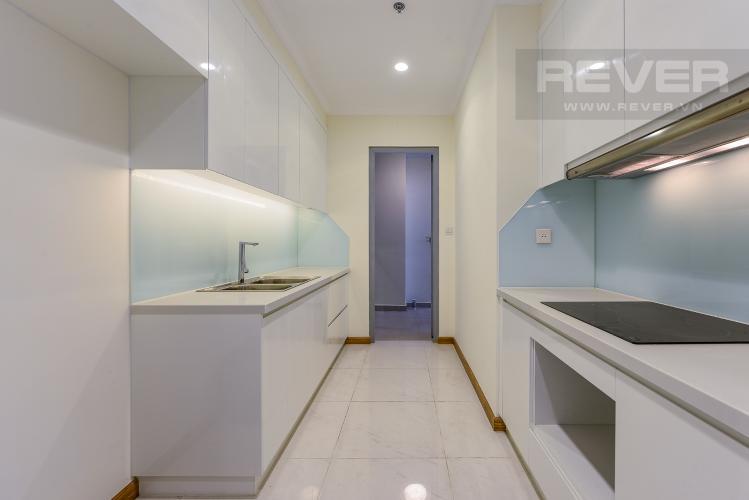 Bếp Căn hộ Vinhomes Central Park 3 phòng ngủ tầng cao L1 view sông