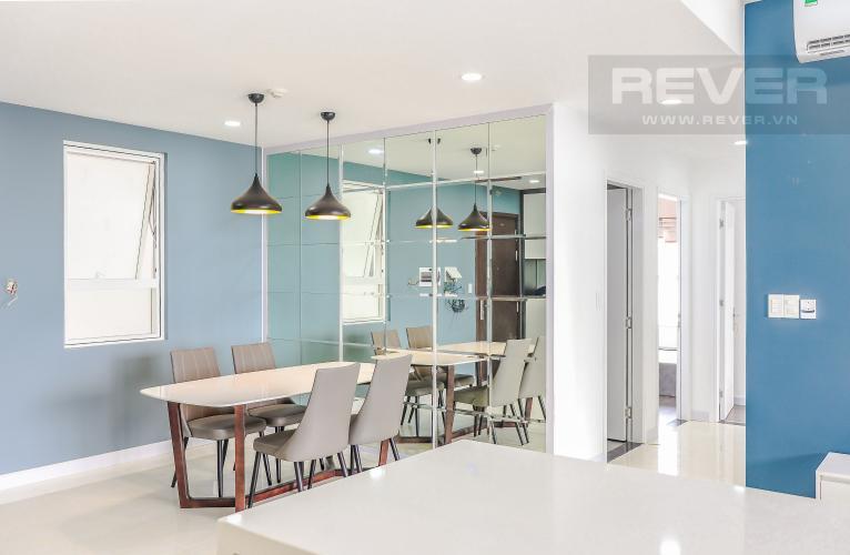 Phòng Ăn Bán hoặc cho thuê căn hộ Sunrise CityView 3PN, tầng trung, diện tích 104m2, nội thất cơ bản