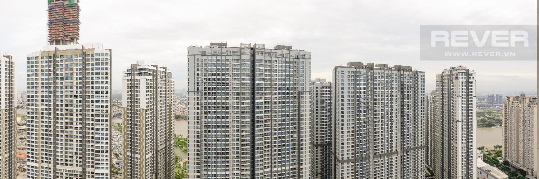 View Căn hộ Vinhomes Central Park 2 phòng ngủ tầng cao C3 nhà trống