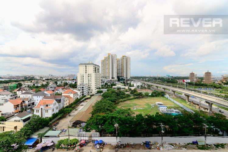 View Cho thuê căn hộ Masteri An Phú 1PN, tầng thấp, tháp B, đầy đủ nội thất