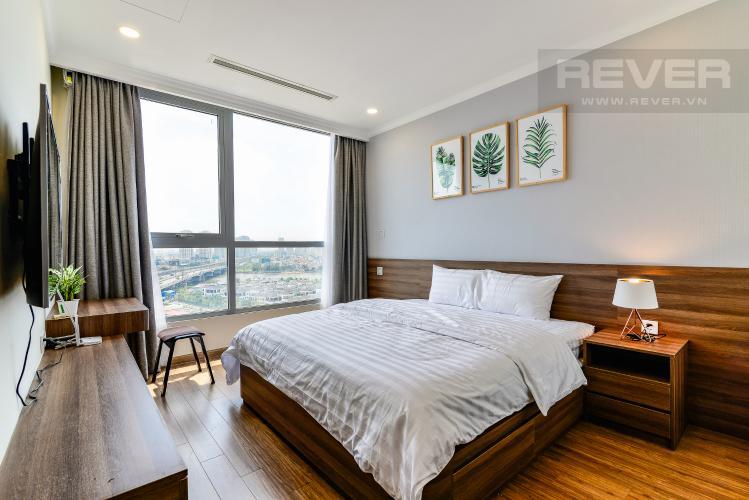 Phòng Ngủ 1 Căn hộ Vinhomes Central Park 2 phòng ngủ tầng trung L6 hướng Đông Bắc