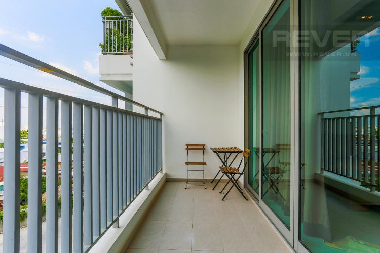 Ban Công Căn hộ The View Riviera Point tầng thấp tòa T4, 2 phòng ngủ, full nội thất