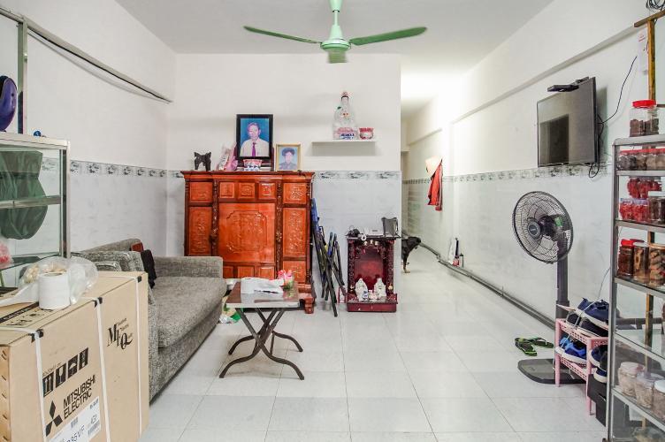 Căn hộ 14 Lô P chung cư Ngô Gia Tự, 2PN, đầy đủ nội thất