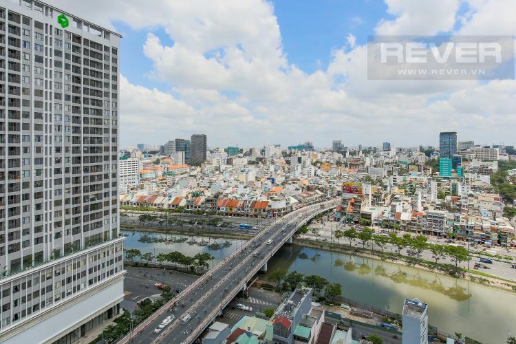 View Căn hộ Masteri Millennium tầng cao, tháp B, 1 phòng ngủ, view sông