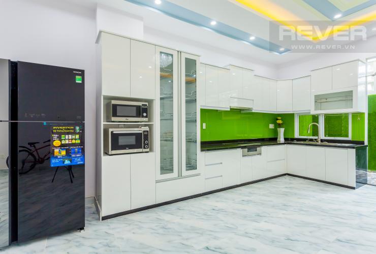 Nhà bếp Nhà phố khu compound Mega Khang Điền Quận 9 nội thất đầy đủ